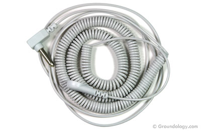 Coiled cord - 6m