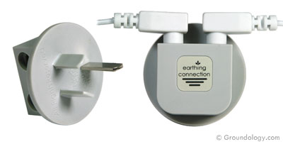 Earth connection plug (Australasia)