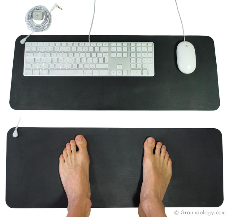 Grounding Mats Earthing Yoga And Fitness Mat